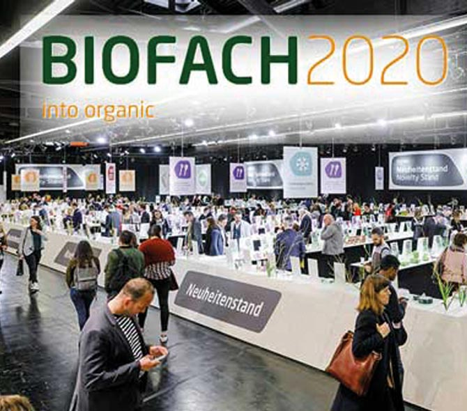 The seedfuture model at Biofach 2020.